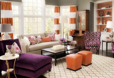 Lovely Roses Decor For Living Room33