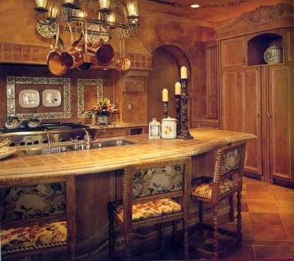 Lovely Western Style Kitchen Decorations08