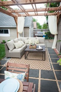 Modern Patio On Backyard Ideas03