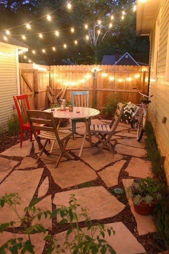 Modern Patio On Backyard Ideas36