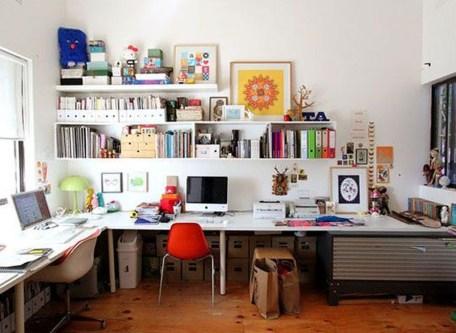 Simple Workspace Design Ideas38