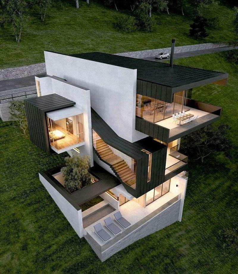 Amazing Modern Home Exterior Designs19