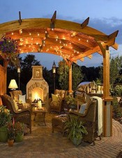 Amazing Traditional Patio Setups For Your Backyard11