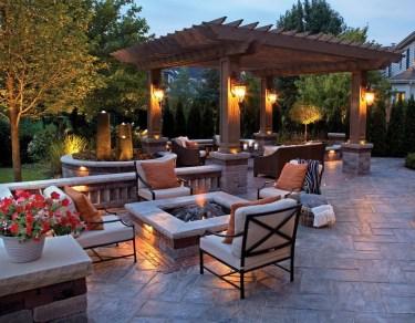 Amazing Traditional Patio Setups For Your Backyard18
