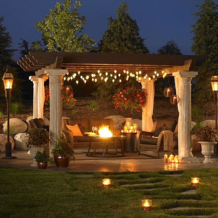 Amazing Traditional Patio Setups For Your Backyard39