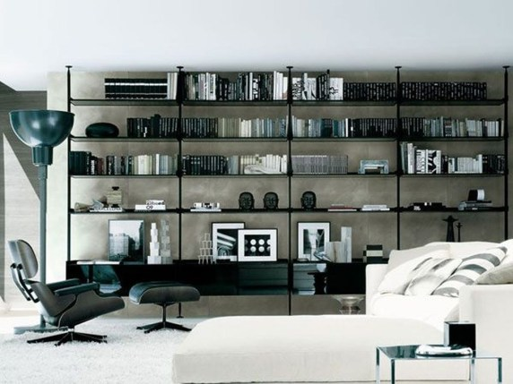 Amazing Wall Storage Items For Your Contemporary Living Room10