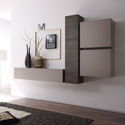 Amazing Wall Storage Items For Your Contemporary Living Room18