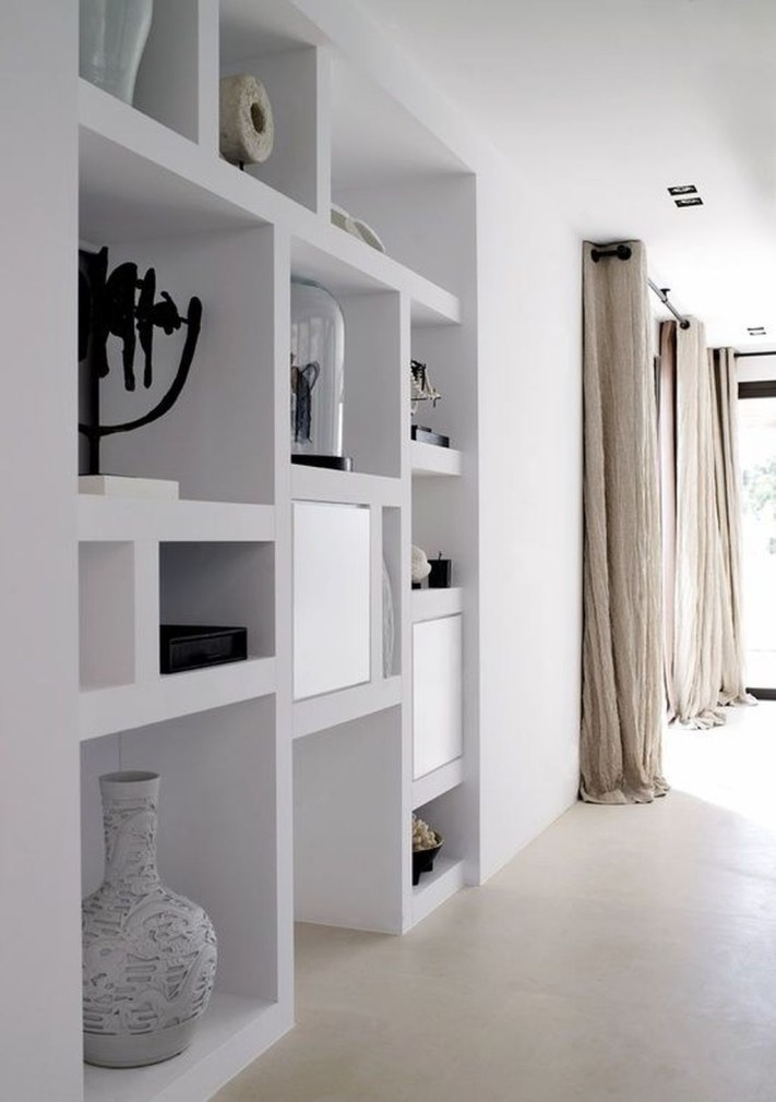 Amazing Wall Storage Items For Your Contemporary Living Room20