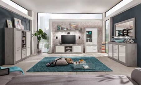 Amazing Wall Storage Items For Your Contemporary Living Room24