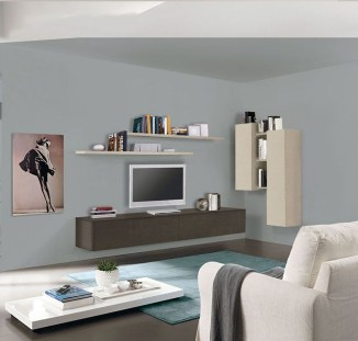 Amazing Wall Storage Items For Your Contemporary Living Room26
