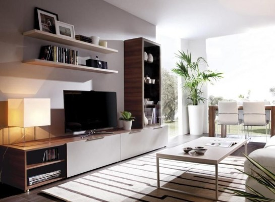 Amazing Wall Storage Items For Your Contemporary Living Room29