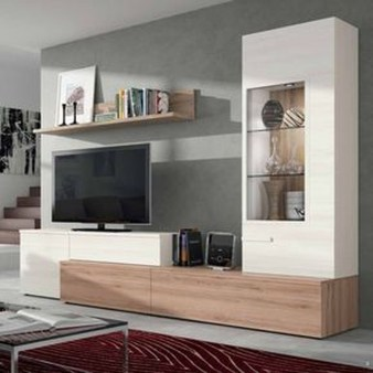 Amazing Wall Storage Items For Your Contemporary Living Room34