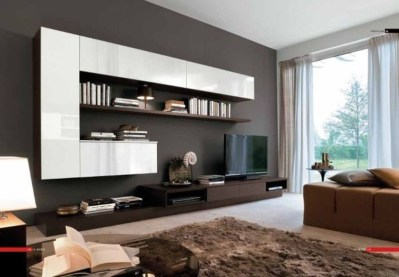 Amazing Wall Storage Items For Your Contemporary Living Room41
