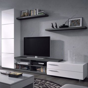 Amazing Wall Storage Items For Your Contemporary Living Room47