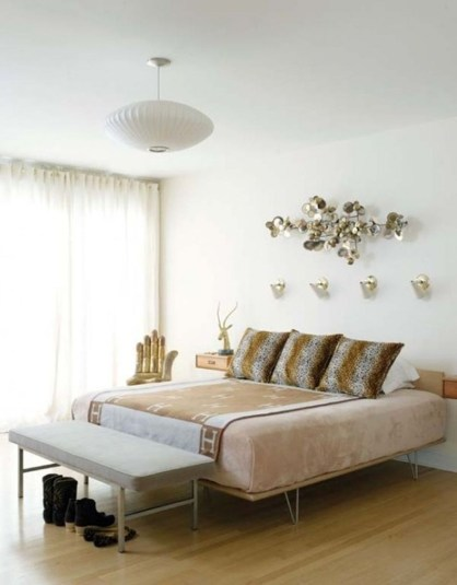 Beautiful Vintage Mid Century Bedroom Designs17