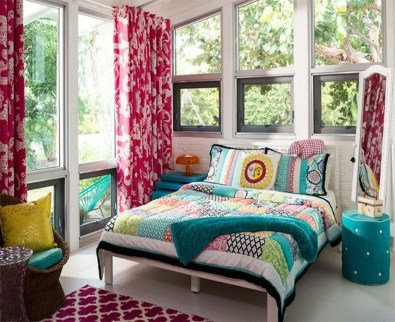 Beautiful Vintage Mid Century Bedroom Designs24