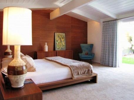 Beautiful Vintage Mid Century Bedroom Designs36