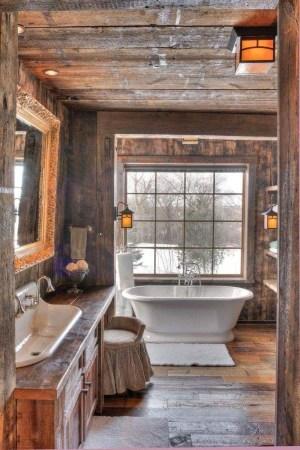 LoVely Rustic Bathroom Ideas17