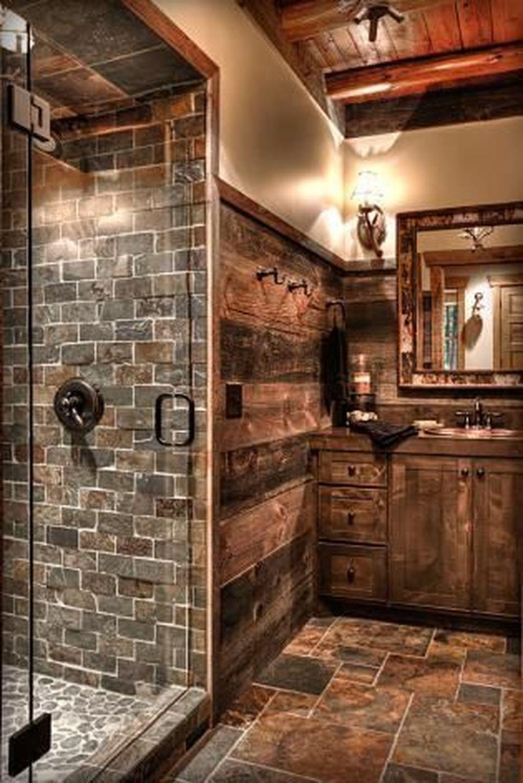 LoVely Rustic Bathroom Ideas31