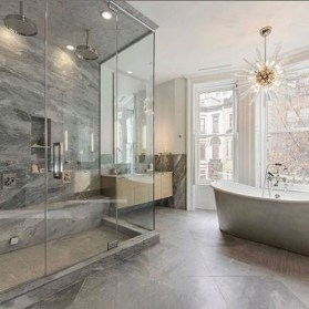 Lovely Contemporary Bathroom Designs38