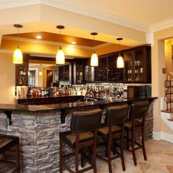 Modern Home Bar Designs23