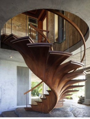 Modern Staircase Designs For Your New Home09