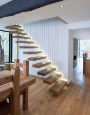 Modern Staircase Designs For Your New Home23