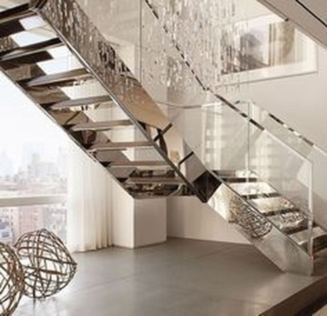 Modern Staircase Designs For Your New Home25