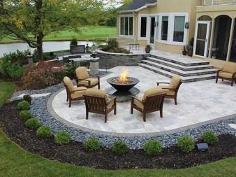 Simple Backyard Step Lights Fire Pits35