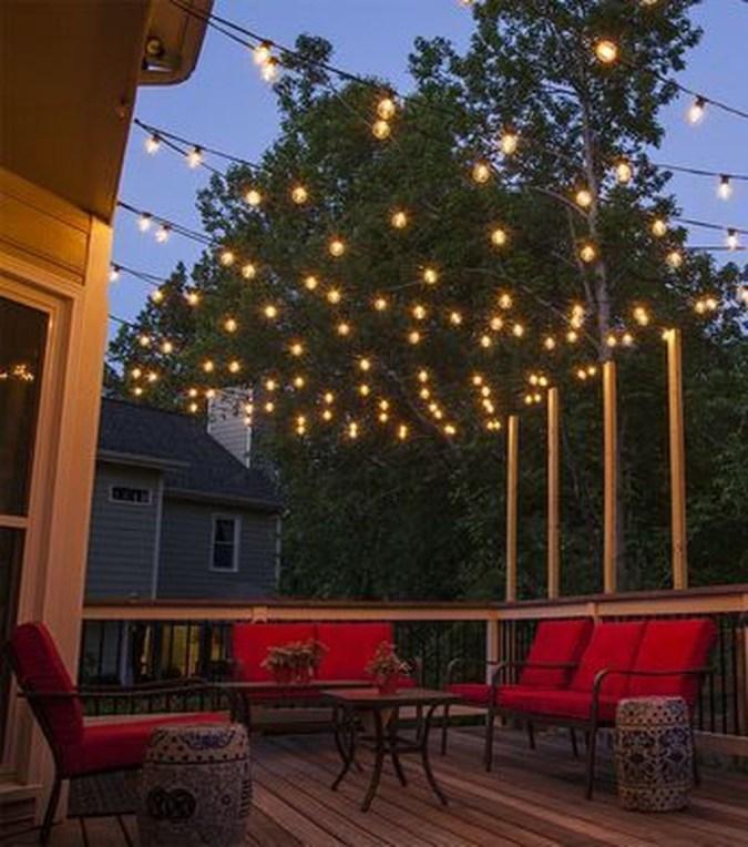 Simple Backyard Step Lights Fire Pits41