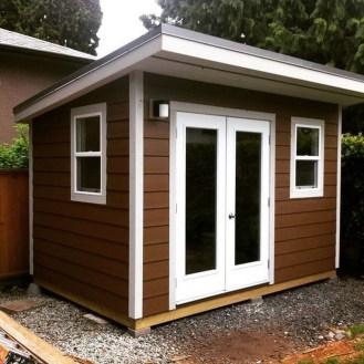 Amazing Backyard Studio Shed Design24
