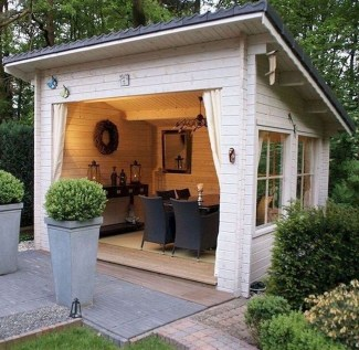Amazing Backyard Studio Shed Design31