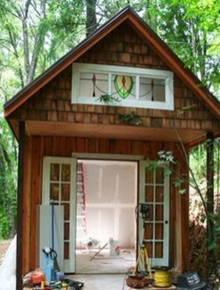 Amazing Backyard Studio Shed Design42