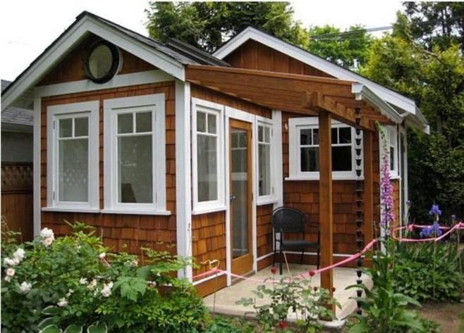 Amazing Backyard Studio Shed Design47
