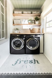 Amazing Laundry Room Tile Design05