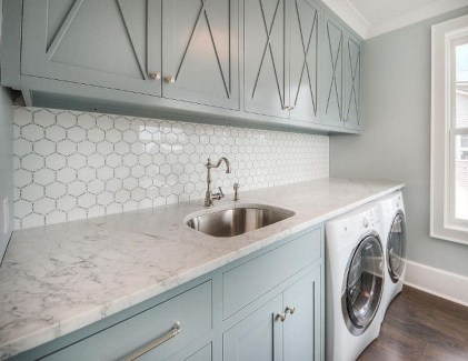 Amazing Laundry Room Tile Design16