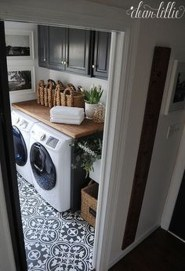Amazing Laundry Room Tile Design32