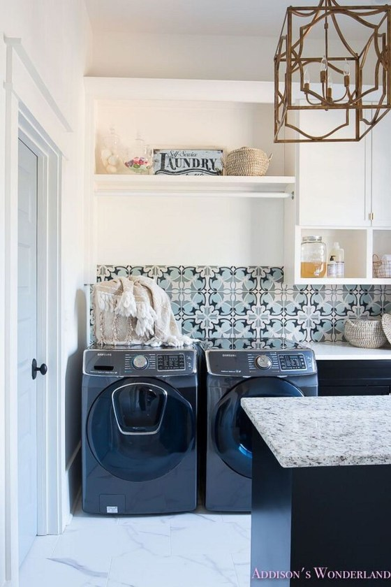 Amazing Laundry Room Tile Design45