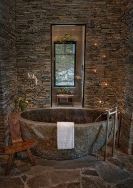 Elegant Stone Bathroom Design06