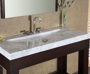 Elegant Stone Bathroom Design20