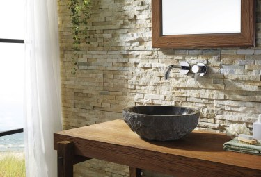 Elegant Stone Bathroom Design28