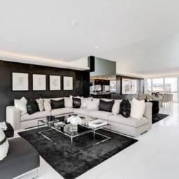 Lovely Black And White Living Room Ideas01