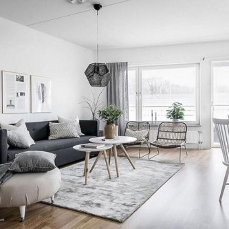 Lovely Black And White Living Room Ideas07