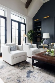 Lovely Black And White Living Room Ideas10