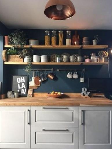 Lovely Blue Kitchen Ideas10
