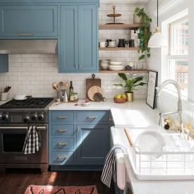 Lovely Blue Kitchen Ideas12