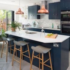 Lovely Blue Kitchen Ideas33