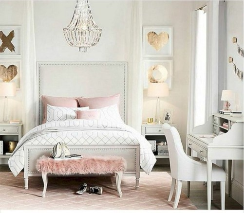 Lovely Girly Bedroom Design06
