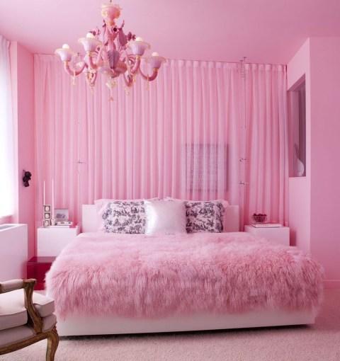 Lovely Girly Bedroom Design11