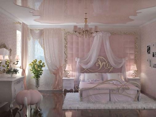 Lovely Girly Bedroom Design37